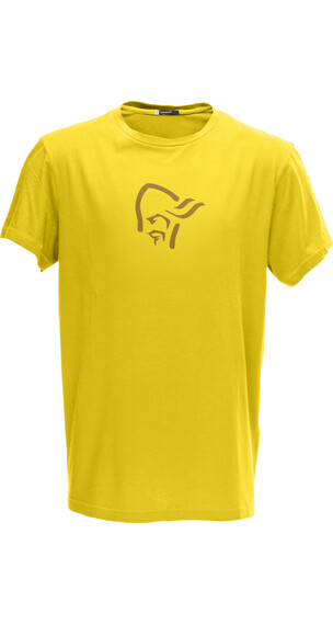Norrøna M's /29 Cotton Logo T- Shirt Mellow Yellow